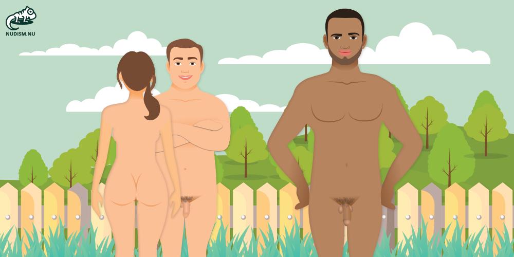 Nudism Behind Fences