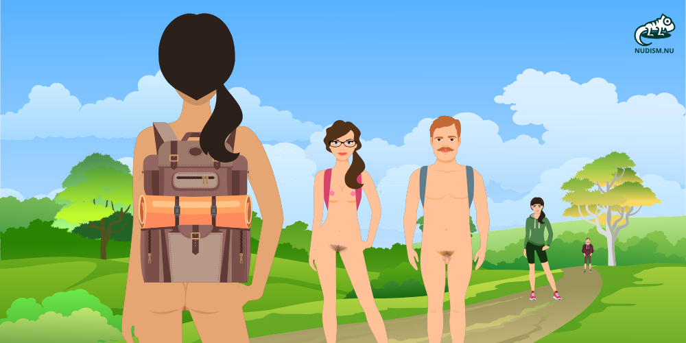 Nude Hiking Day June 21