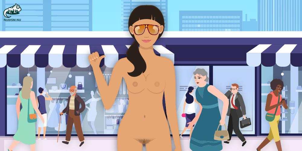 Only One Naked - Clothing Optional World