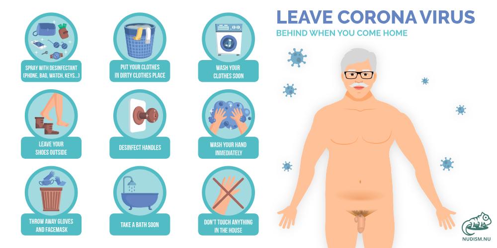 Leave Corona Virus
