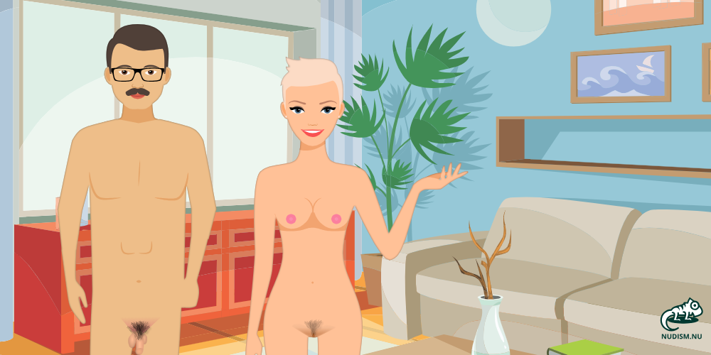 Clothing Optional in Our House